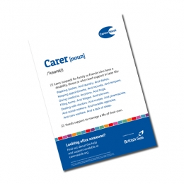 Definition of Carer Poster